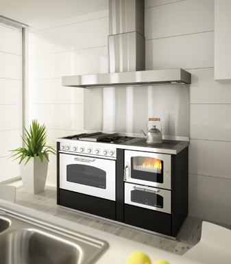 Cucine Combinate Legna e Gas | Termocucine Combinate - DeManincor