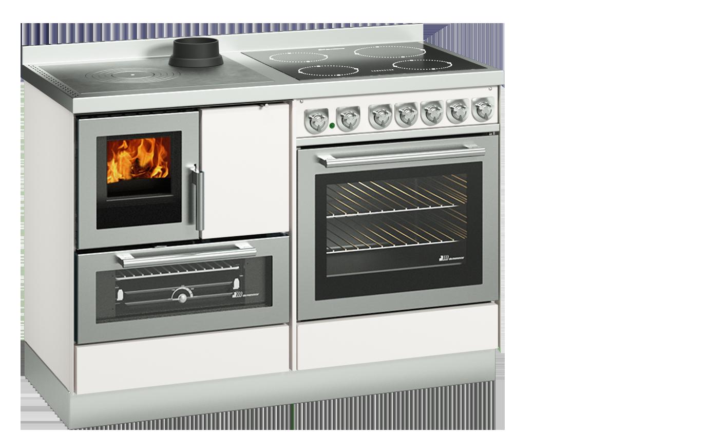 Cucine Combinate Legna e Gas | Termocucine Combinate - DeManincor S.p.a.