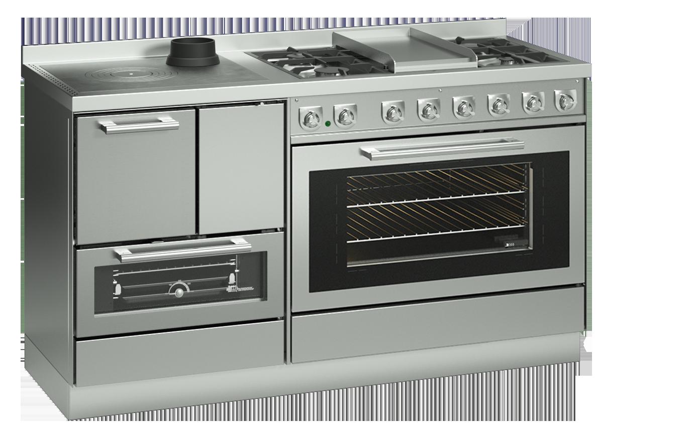 Cucine Combinate Legna e Gas | Termocucine Combinate ...