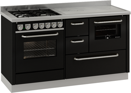 Emejing cucine combinate legna gas pictures - Termocucine a legna usate ...
