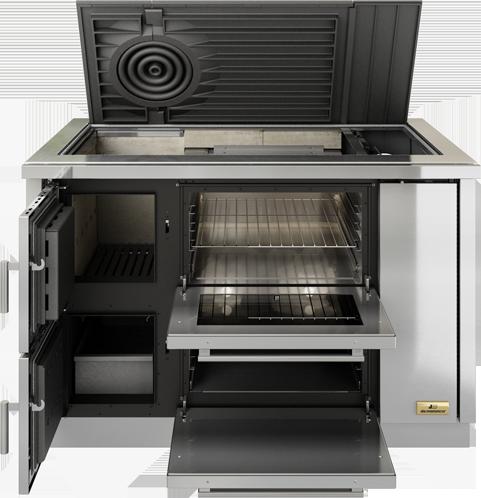 Cucine Combinate Legna Gas. Cool Cucine Combinate Legna Gas With ...