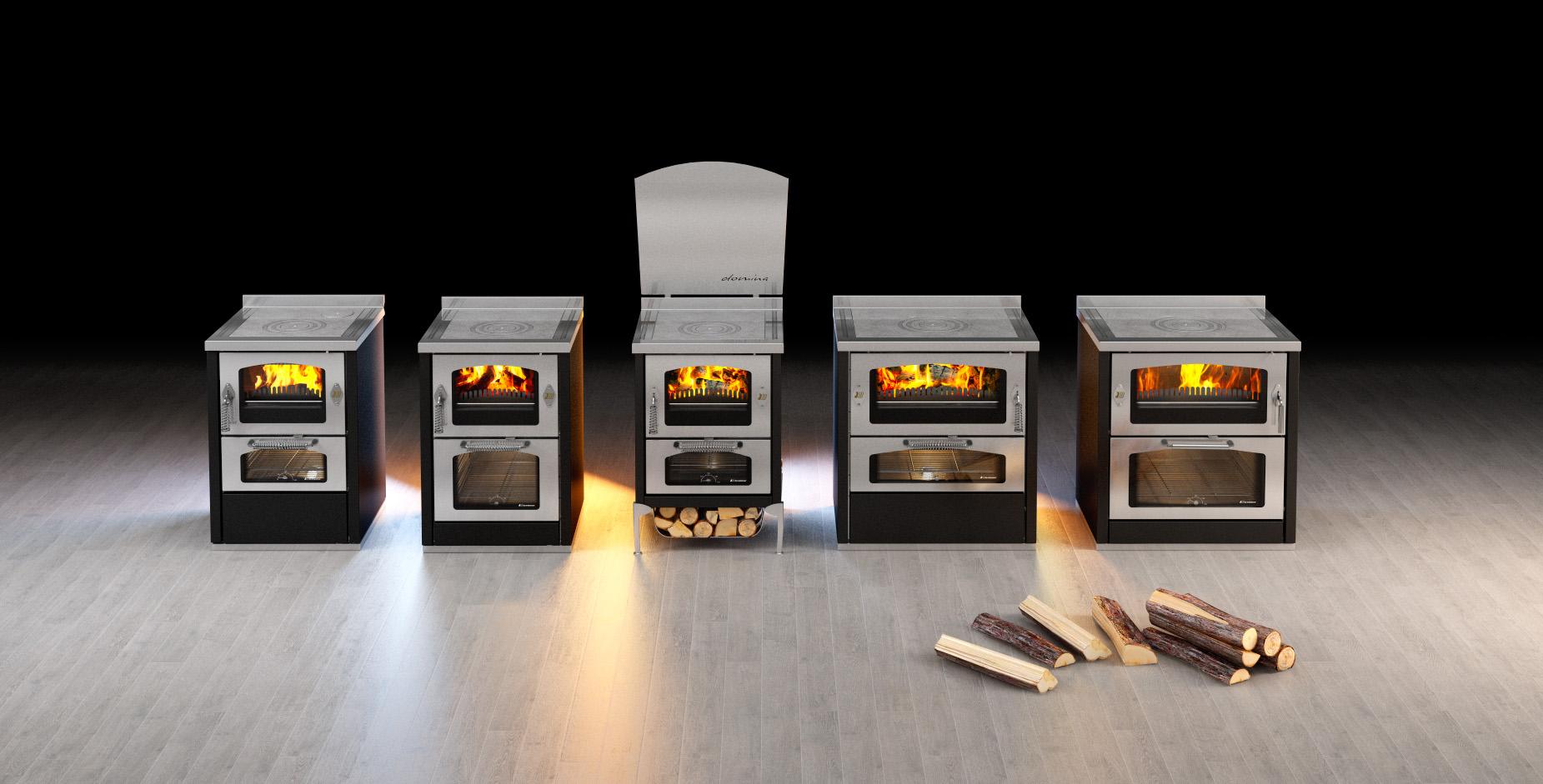Stunning prezzi cucine economiche a legna images - Termostufe a pellet e legna combinate prezzi ...